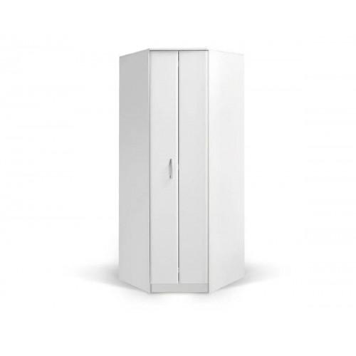 Γωνιακή ντουλάπα  Fortuna FU Άσπρη