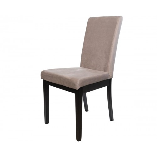 Ετοιμοπαράδοτη καρέκλα BM-Diva σε μαύρο και Μπεζ ύφασμα