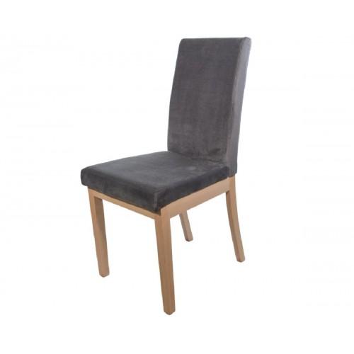 Ετοιμοπαράδοτη καρέκλα BM-Diva σε φυσικό και γκρι ύφασμα