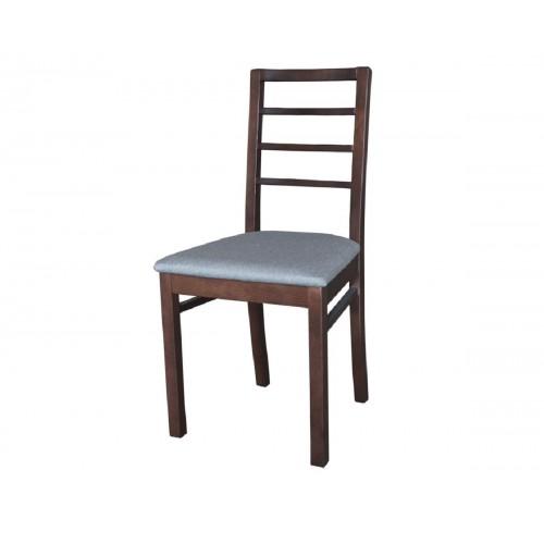 Ετοιμοπαράδοτη καρέκλα GM-M3 καρυδί με γκρι ύφασμα