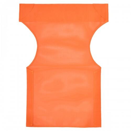Διάτρητο πανί pakoworld επαγγελματικό για πολυθρόνα σκηνοθέτη χρώματος πορτοκαλί