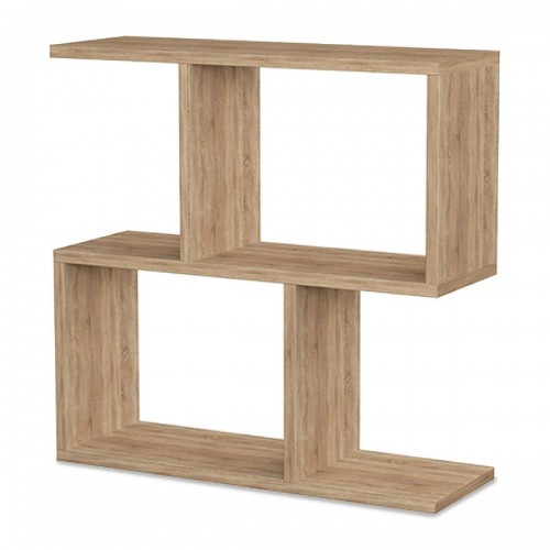 Βοηθητικό τραπέζι Homemania pakoworld χρώμα φυσικό 60x20x60εκ