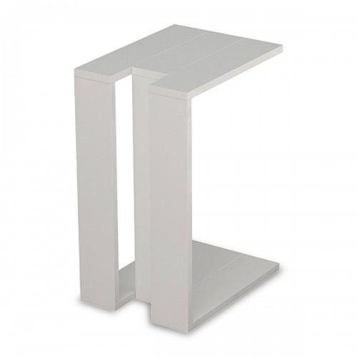 Βοηθητικό τραπέζι Muju pakoworld σε χρώμα λευκό 40x30x57εκ