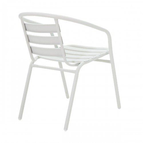 Πολυθρόνα κήπου Tade pakoworld μέταλλο λευκό